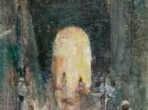 Emil Carlsen : Marketplace at St. Thomas, no.2, ca.1915.