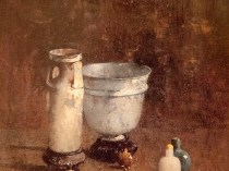 Emil Carlsen : Roman glass, ca.1916.