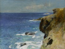 Emil Carlsen St. Thomas harbor, ca.1916