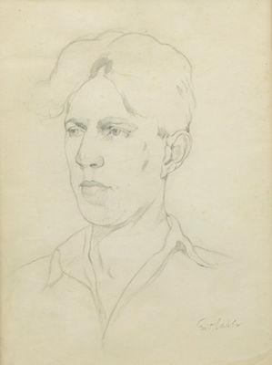 Emil Carlsen Dines Carlsen, c.1916