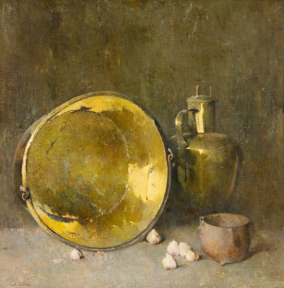 Emil Carlsen : Arrangement in grays, ca.1921.