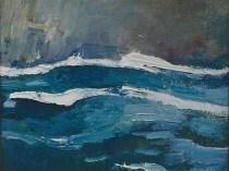 Emil Carlsen : Squall, ca.1930.