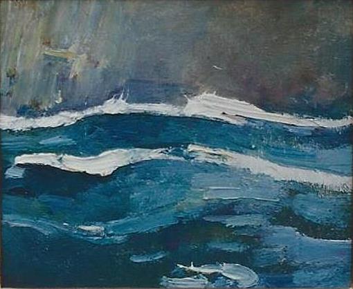 Emil Carlsen : Squall, ca.1925.