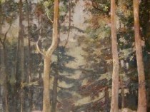 Emil Carlsen Towering Trees, 1928