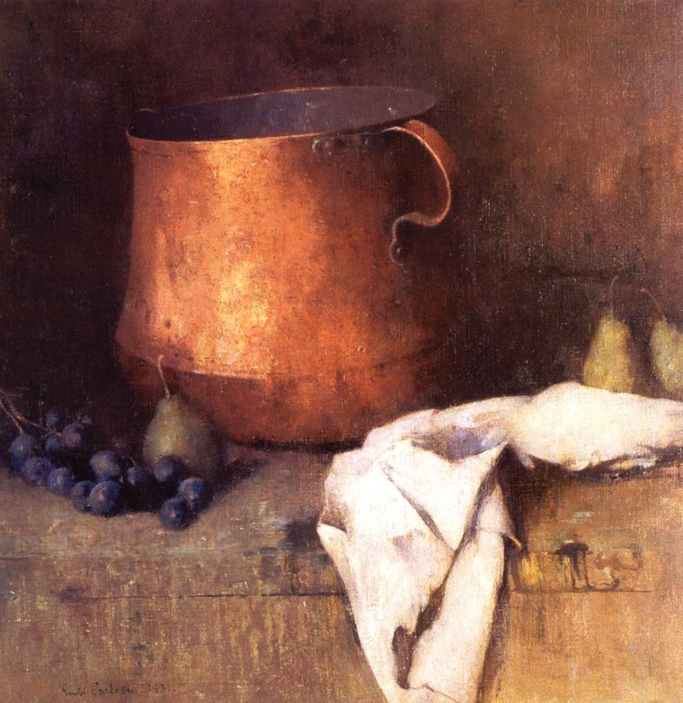 Emil Carlsen The Copper Pot, 1931