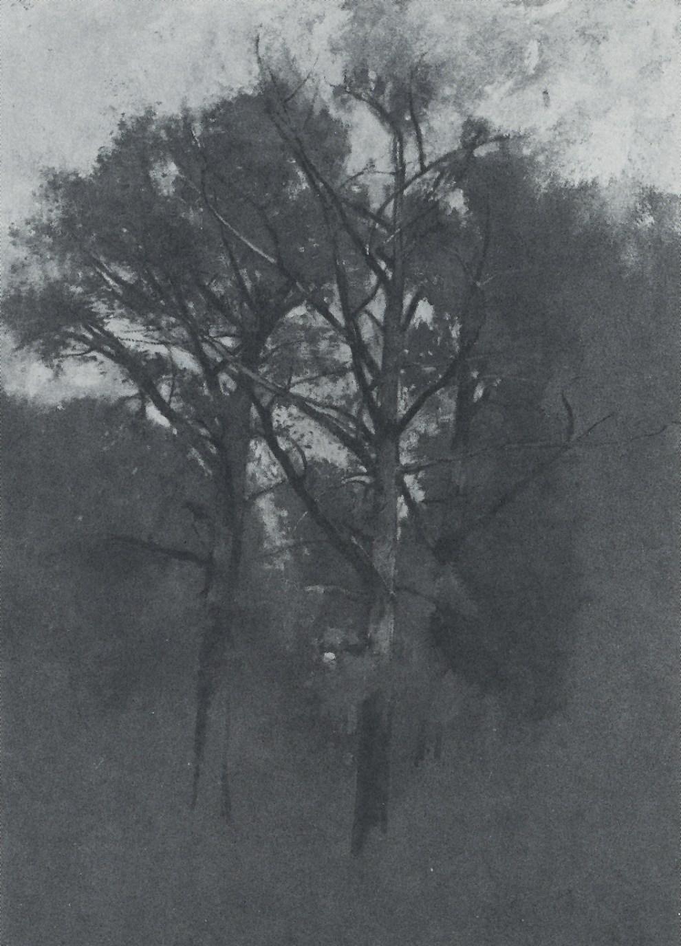 Emil Carlsen : Trees, ca.1932.