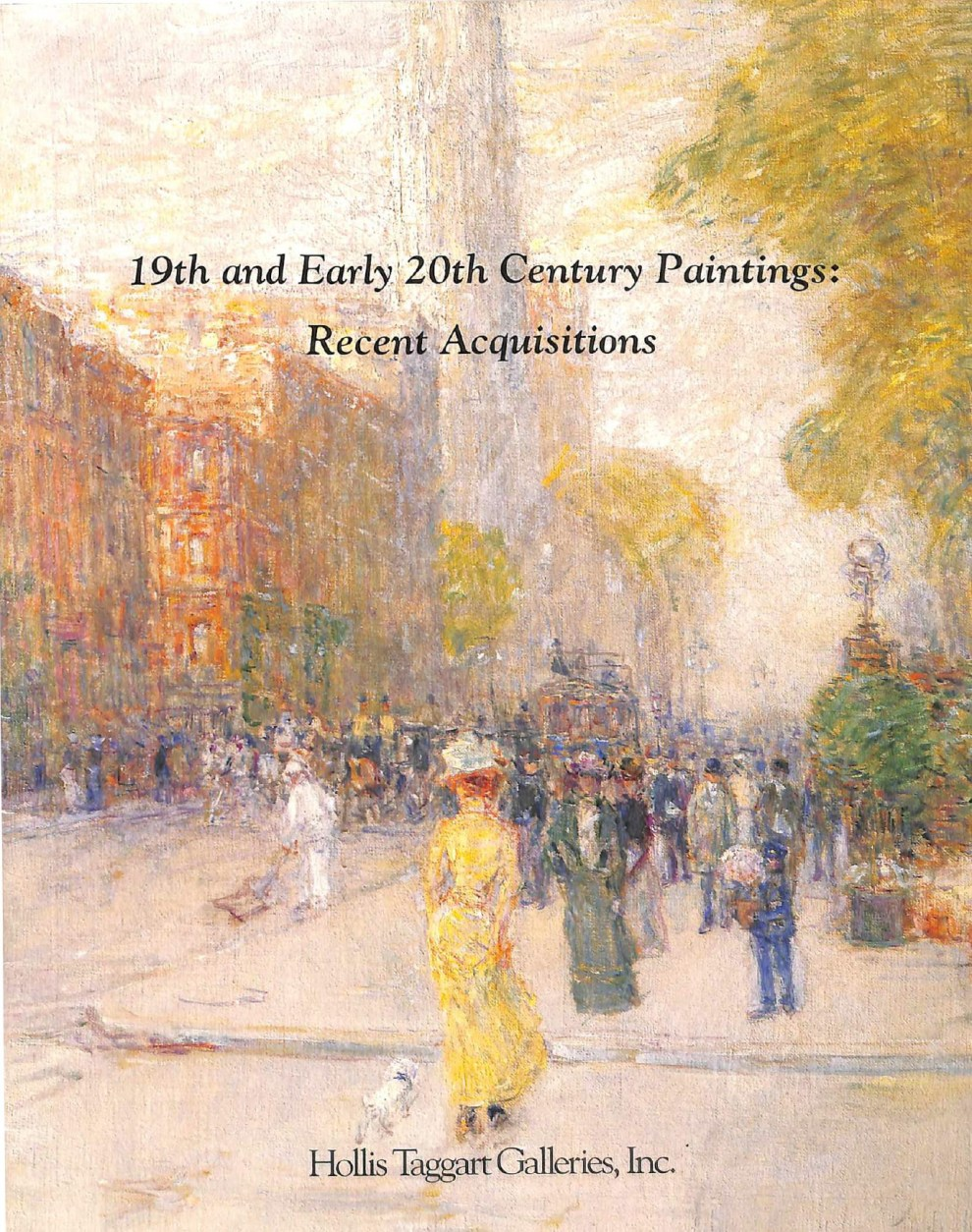 "1993 Hollis Taggart Galleries, Inc., Washington, DC, ""19th and 20th Century Paintings: Recent Acquisitions"", May 15 – June 26"