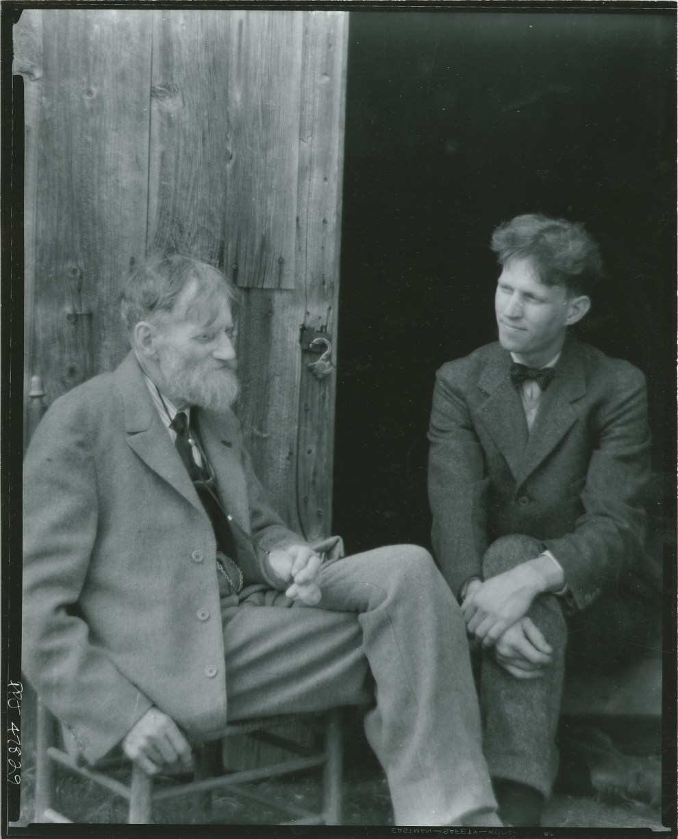 Fig. 32. Emil Carlsen and son Dines, c.1930