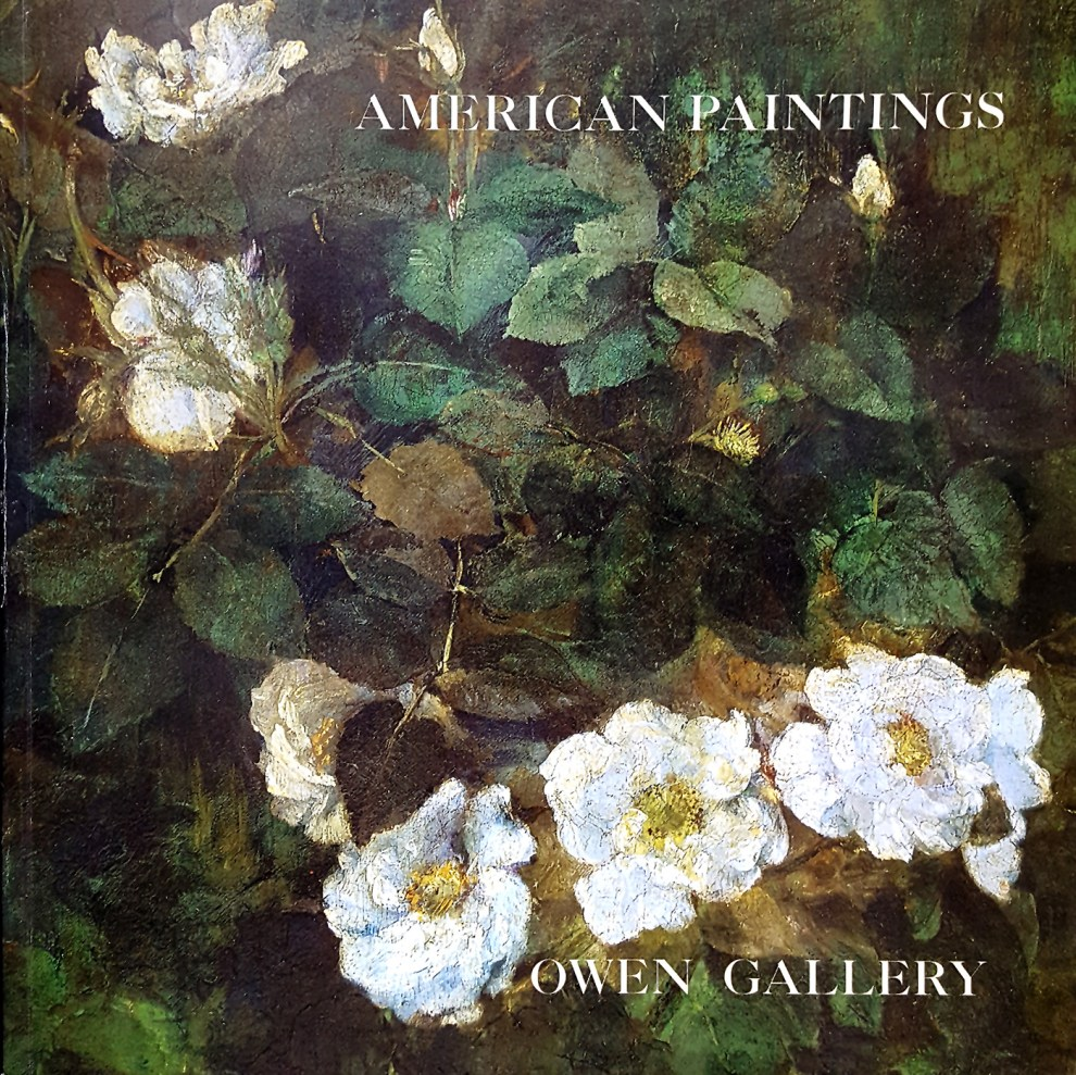 "2002 Owen Gallery, New York, NY, ""American paintings"", April 20 – June 28."