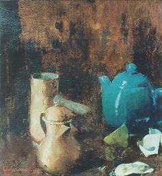 Emil Carlsen Still Life with Green Tea Pot, c.1889