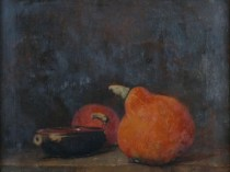 Emil Carlsen Still Life with Gourds and Bowl (aka: Still Life with Gourds), c.1883