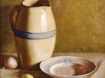 Emil Carlsen Still Life with Pottery c.1890