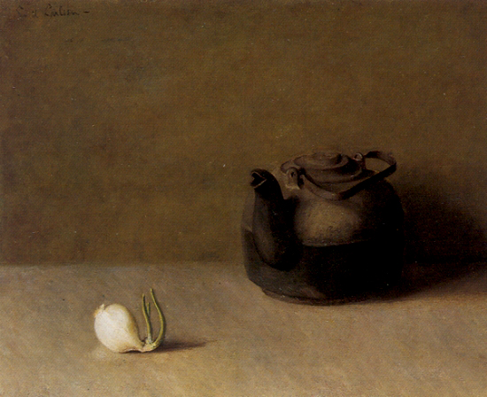 Emil Carlsen Still Life with Teapot and Onion c.1916