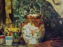 Emil Carlsen Still Life with Oriental Vase, 1884