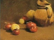 Emil Carlsen Onions and Brown Pitcher 1894