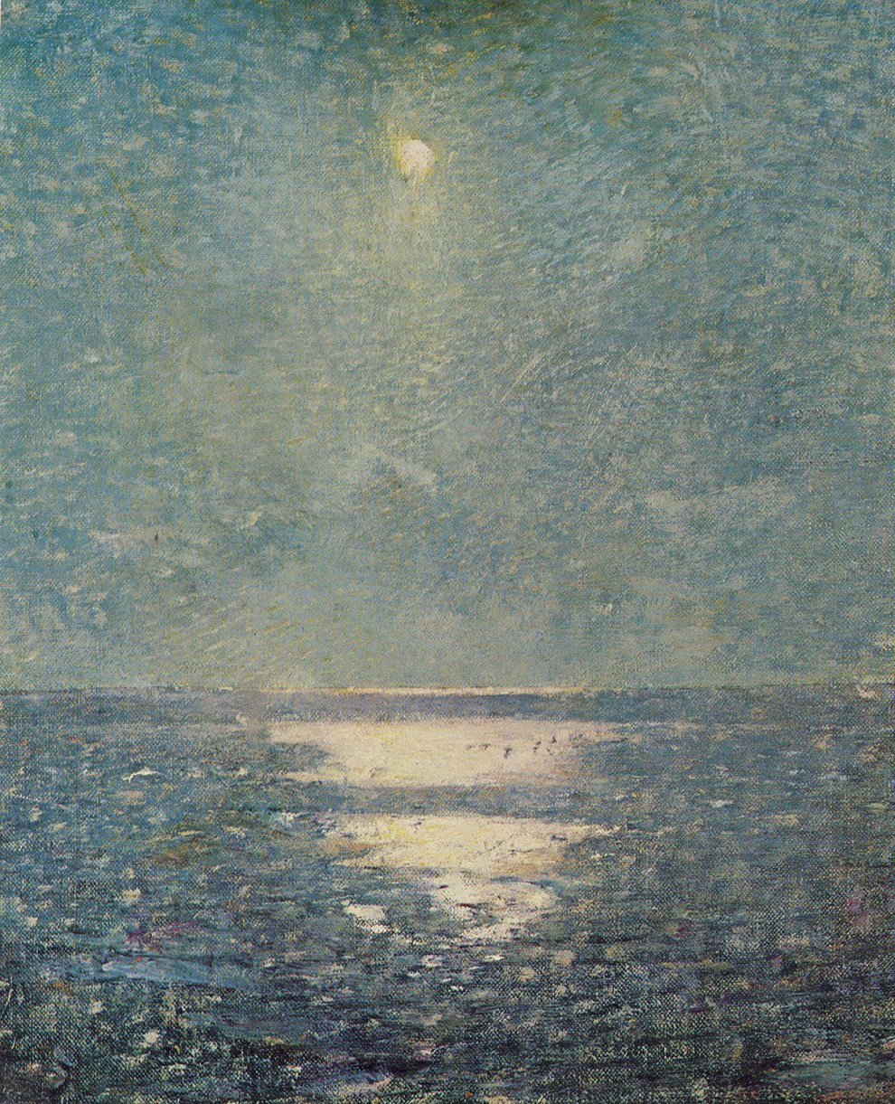 Emil Carlsen Moonlight on the Sea (also called Moonlight on a Calm Sea) c.1916
