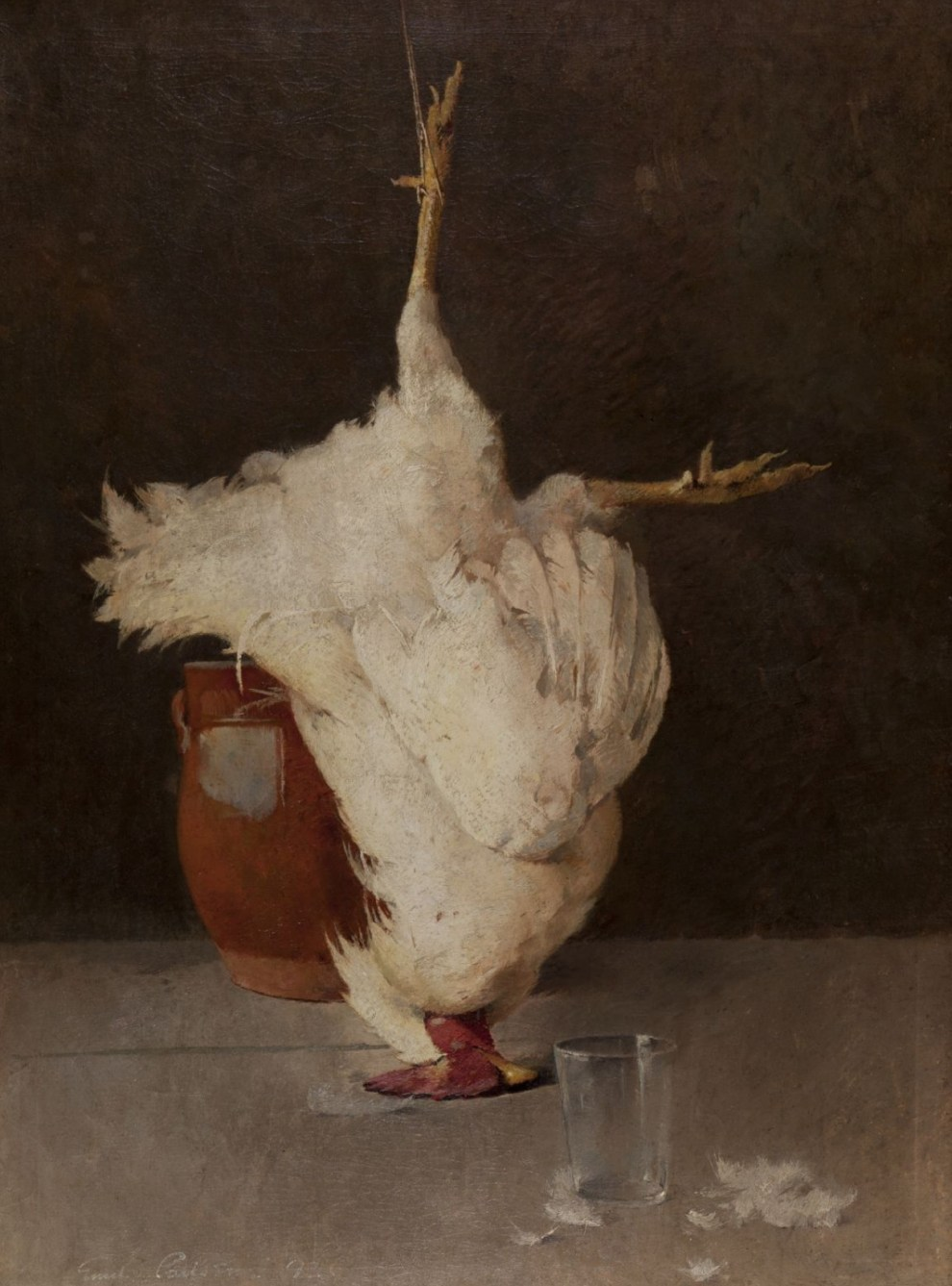 Emil Carlsen Still Life (The White Rooster), 1892