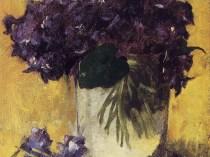 Emil Carlsen Violets, c.1897