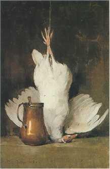 Emil Carlsen Still Life: Guinea Hen/Copper, 1892