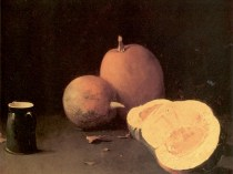 Emil Carlsen Still Life with Squash and Pitcher (also known as Still Life: Squash and Pitcher and Still Life with Pumpkin) 1893