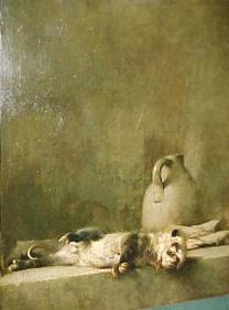 Emil Carlsen Still Life with Possum, c.1892