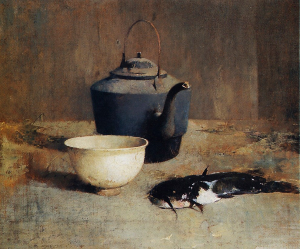 Emil Carlsen : Still life with catfish, ca.1903.