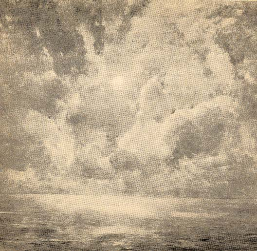 Emil Carlsen Sunrise Over a Foggy Sea