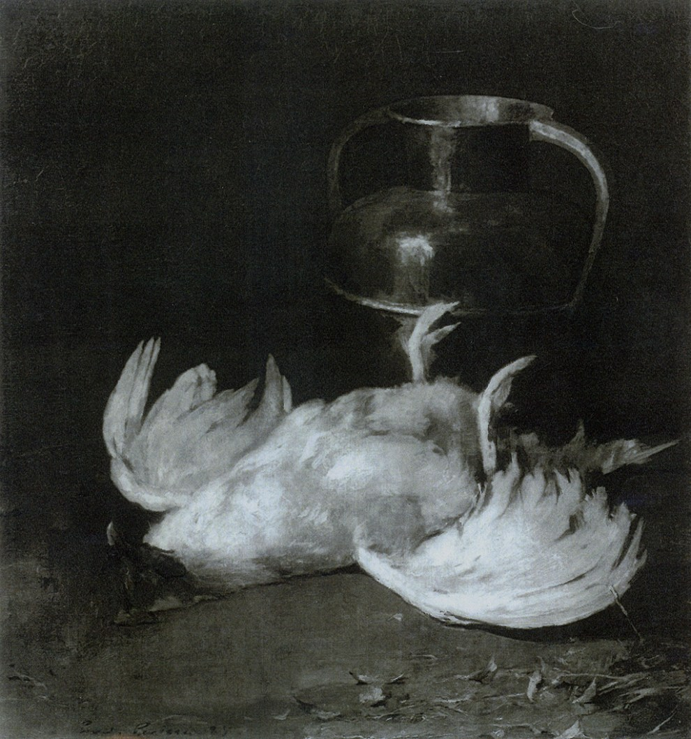 Emil Carlsen Still Life With Poultry, 1885