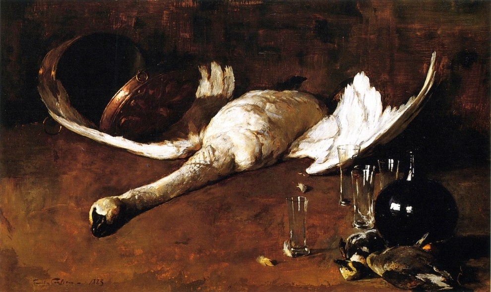 Emil Carlsen Still Life With Goose (also known as Still Life (No.4)) 1883