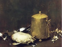 Emil Carlsen : Still life with ducks, ca.1883.