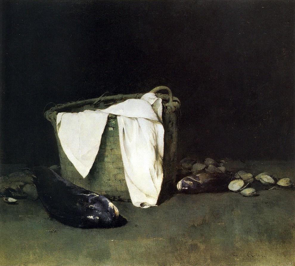 Emil Carlsen : Blackfish and clams, 1902.