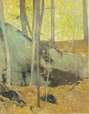 Emil Carlsen Autumn in the Woods, 1929