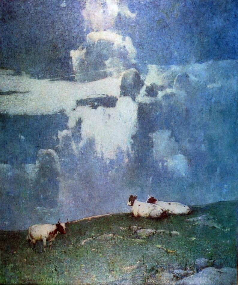 Emil Carlsen : Evening light, 1930.