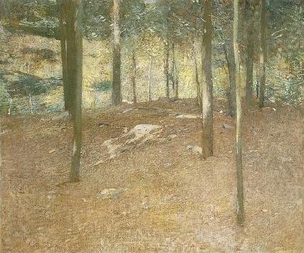 Emil Carlsen : Spring landscape, ca.1915.