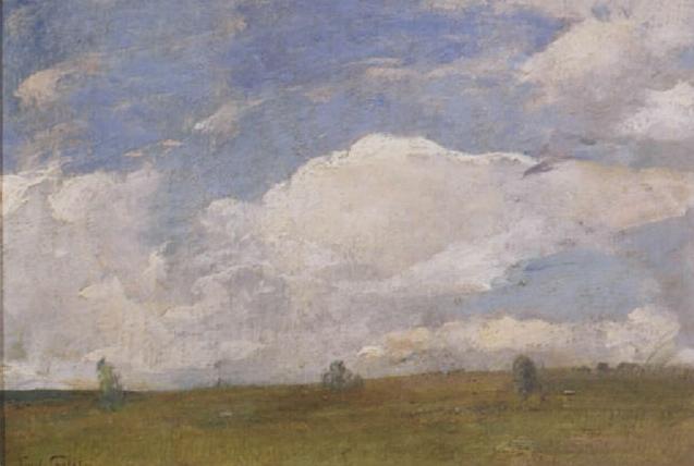 Emil Carlsen Study of Sky c.1915