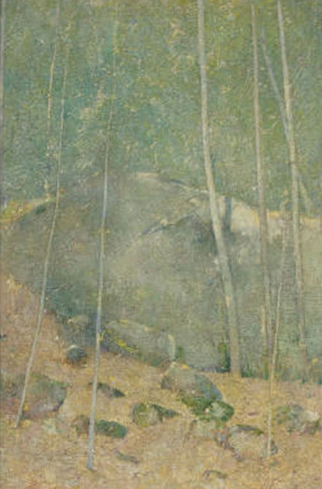 Emil Carlsen In The Maine Woods, ca.1923