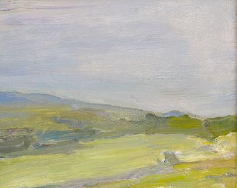 Emil Carlsen : Hillside, ca.1915.