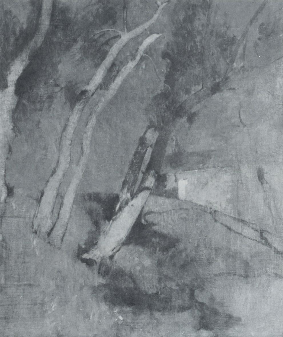 Emil Carlsen Study for Gethsemane: The Garden (also called Night Scene), c.1923