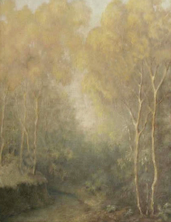 Emil Carlsen Wooded Glen, 1926