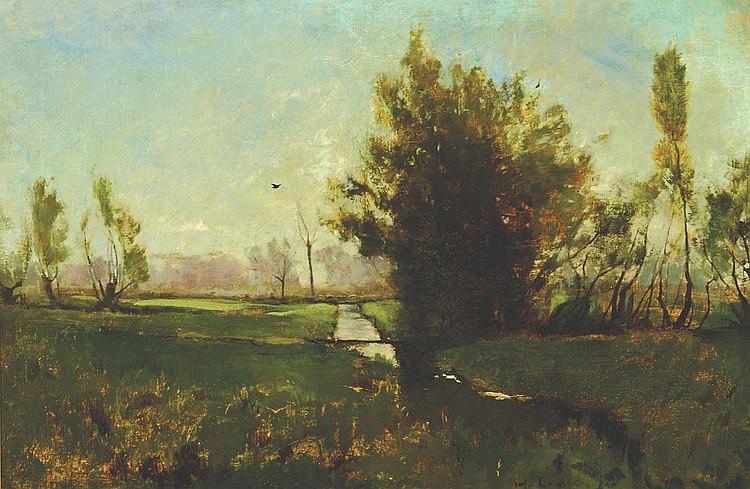 Emil Carlsen Spring Landscape, c.1881