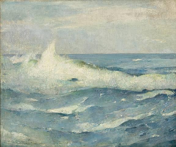 Emil Carlsen Breaking Waves, 1922