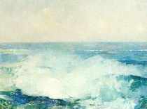 Emil Carlsen Crashing Waves (also called Study of Surf), c.1909