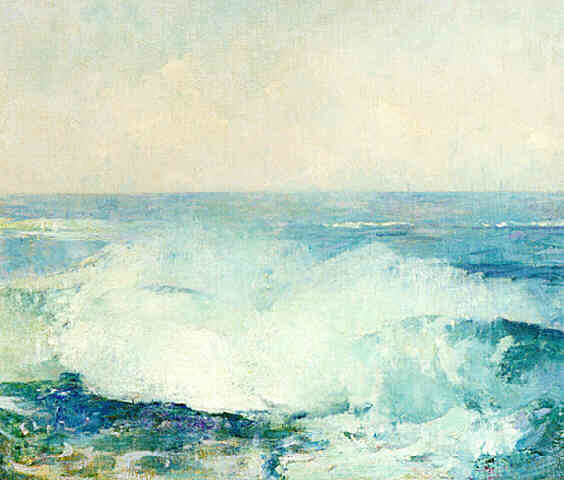 Emil Carlsen Crashing Waves (also called Study of Surf), c.1909
