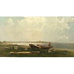 Emil Carlsen : Long Island, 1877.