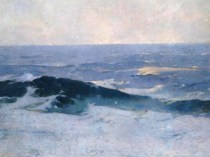 Emil Carlsen Misty Sea, ca.1911