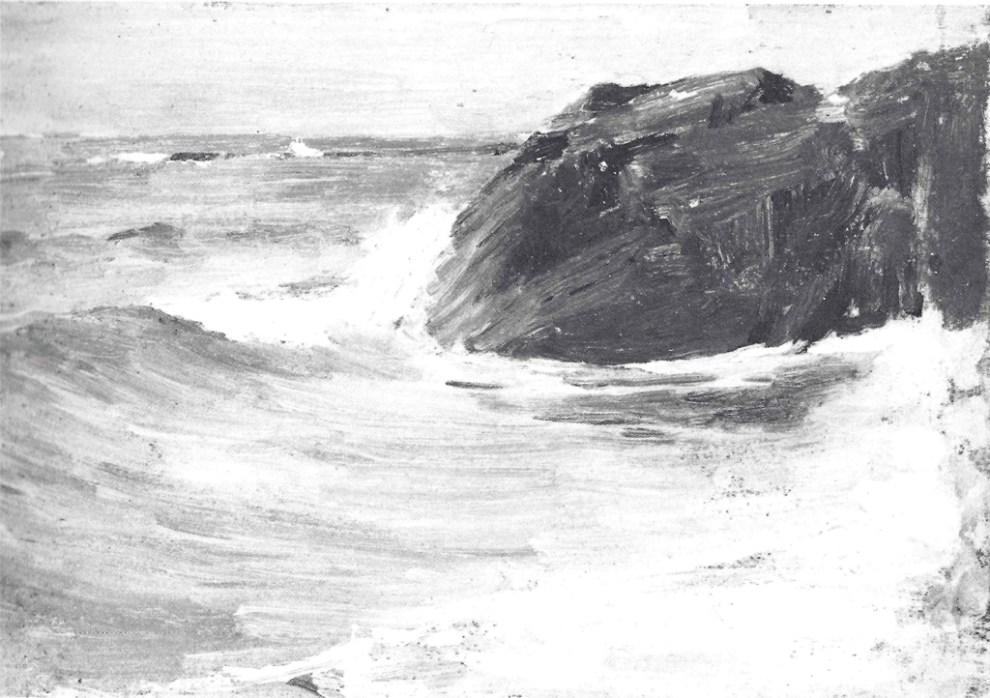 Emil Carlsen Rocky Coast, c.1909