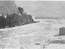 Emil Carlsen Rocky Inlet, c.1914