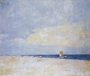 Emil Carlsen The South Strand, Skagen, 1917