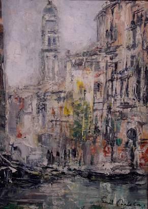 Emil Carlsen Venetian Canal, c.1908