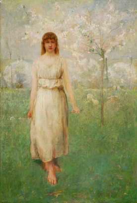 Emil Carlsen Shepherdess, 1884